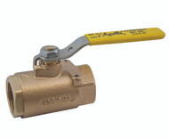 "BRONZE BALL VALVE W/ MOUNTING PAD - 2"" Part #: 71-108-01"