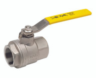 """STAINLESS STEEL FULL PORT BALL VALVE - 1/2"""" - Part Number: 76F-103-01A"""
