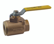 "BRONZE FULL PORT BALL VALVE - 3/4"" Part Number: 77-104-01"