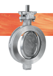 "Series 44 Double Eccentric High performance Butterfly Valves - 4"" Part Number: 44040346R5B0"