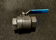 "Carbon Steel Threaded Ball Valve - 1"" Part NUmber: T2100344R9L0"