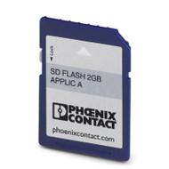 Program / configuration memory - SD FLASH 2GB - Item Number: 2988162