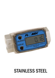 "G2 Series Precision Turbine Meter - Stainless Steel - 0.75"" - Part Number: G2S07T62GMC"
