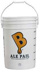 Ale Pail Drilled 6.5 gal Bottling Bucket Brewer's Best