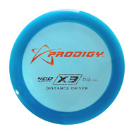 X3 Distance Driver (Seconds)