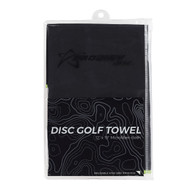 Microfibre Disc Golf Towel 24 Pack - Towel-DG-24pk-BLK