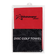 Microfibre Disc Golf Towel - Towel-DG-RED