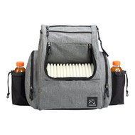 BP-2 Backpack Heather Gray / Black + Rain Fly - BP-2-Hg-Blk-RF
