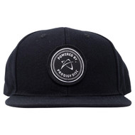 Black, Powered by Prodigy Snapback Hat - Hat-SB-blk-PbP