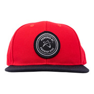 Red/Black, Powered by Prodigy Snapback Hat - Hat-SB-rblk-PbP