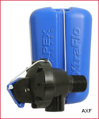 "1"" XTRAFLO Trough Valve & Float"