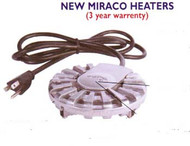 Part  250   250 Watt Heater w/ Plug - Miraco