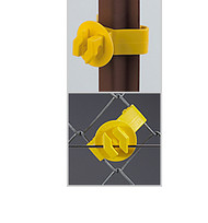DARE XLSU-25 U-Post, Specialty and Chain Link Insulators