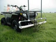 ATV Mount 5 ft Weed Wiper