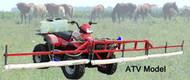 ATV Mount 15 ft Weed Wiper