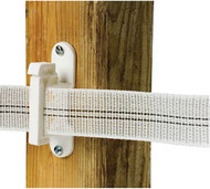 Gallagher 1 1/2 Inch Wide Wood Post Insulator for Tape Fence Deluxe 10 Yr Warranty 25pk