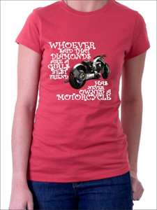 DIAMONDS and Motorcycle T-Shirt