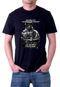 And God said let there be Marines T-Shirt