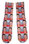 Justin Bieber Mugshot Socks