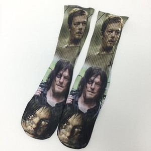 Daryl Dixon the Walking Dead Socks Sublimation Socks