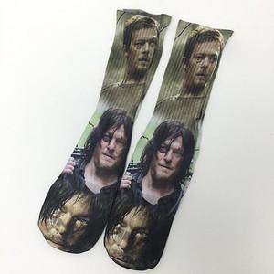 Daryl Dixon the Walking Dead Socks Sublimation Socks
