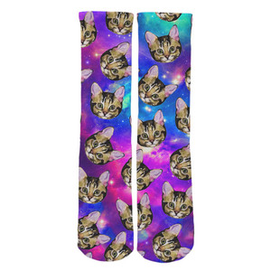 Galaxy Cat Socks