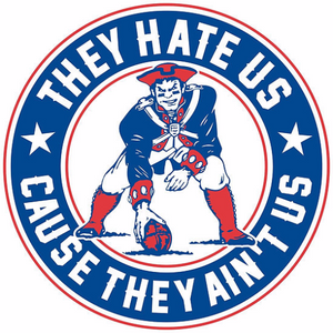 They Hate Us Cause They Ain't Us – New England Patriots