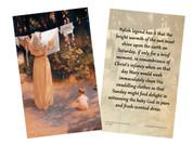 Polish Madonna Legend Holy Card