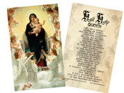 Queen of Angels Holy Card