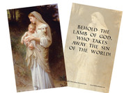 L'Innocence Holy Card