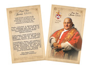 Spanish Pope John XXIII Sainthood Commemorative Holy Card with Prayer