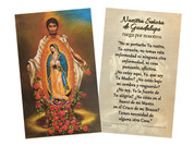 Spanish Juan Diego Holy Card