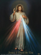 Divine Mercy Wall Graphic