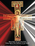 San Damiano Divine Mercy Wall Graphic