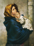 Madonna of the Streets Wall Graphic
