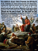 Beatitudes Wall Graphic