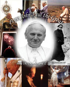Pope John Paul the Great Wall Graphic