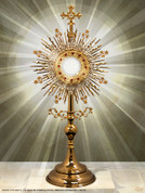 Monstrance Wall Graphic