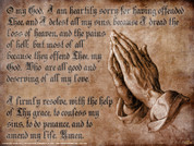 Act of Contrition Wall Graphic