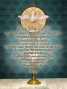 Eucharist with Holy Spirit Wall Graphic