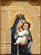 Brown Scapular Explained Teaching Tool