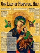 Our Lady of Perpetual Help Explained Teaching Tool