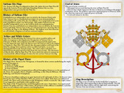 Vatican Flag Explained Teaching Tool