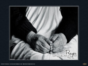 Mother Teresa (Hands) Wall Graphic
