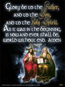 Trinity & Glory Be Wall Graphic