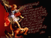 Prayer to St. Michael Wall Graphic