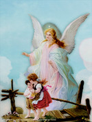 Guardian Angel Wall Graphic