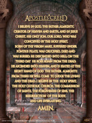 Apostles Creed Wall Graphic