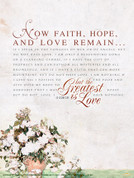 1 Corinthians 13 Wall Graphic