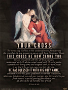 Your Cross (St. Francis de Sales) Wall Graphic